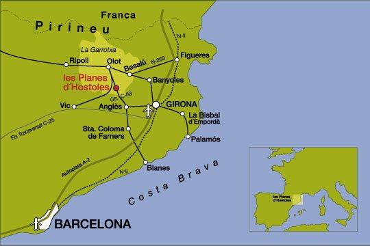 Barcelona - Les Planes d'Hostoles