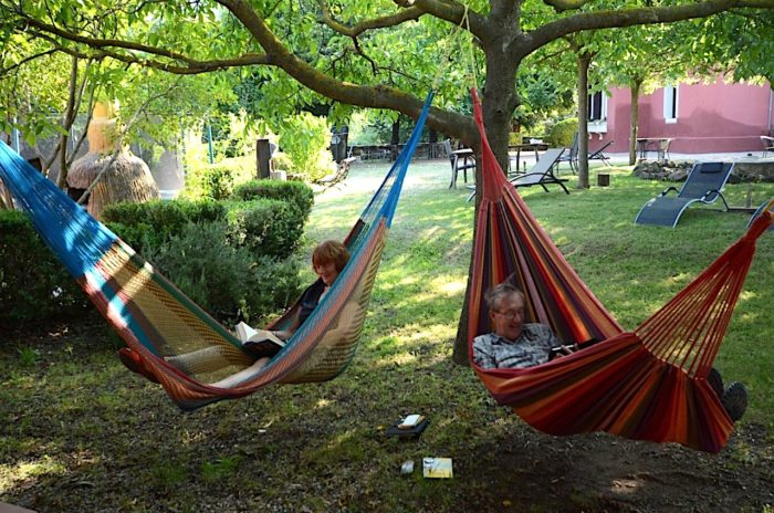 Relax en el jardin